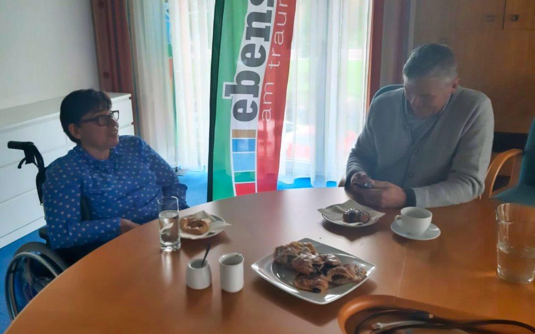 Kaffeehaus-Gespräch Hanna Kamrat & Markus Siller