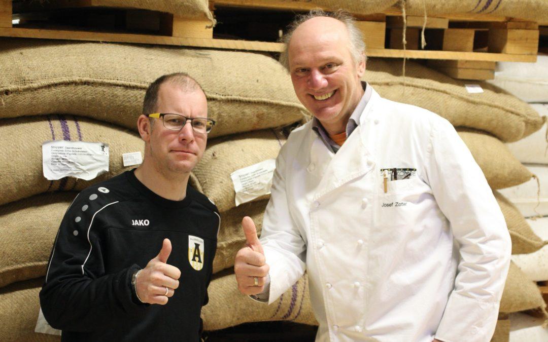 Kaffeehaus-Gespräch Josef Zotter und Roman Flassig