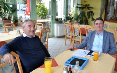 Kaffeehaus-Gespräch Günter Müller & Thomas Lerch